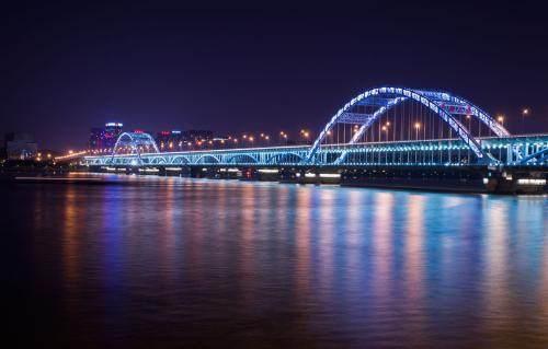 杭州复兴大桥夜景安全免责签字系统.JPEG