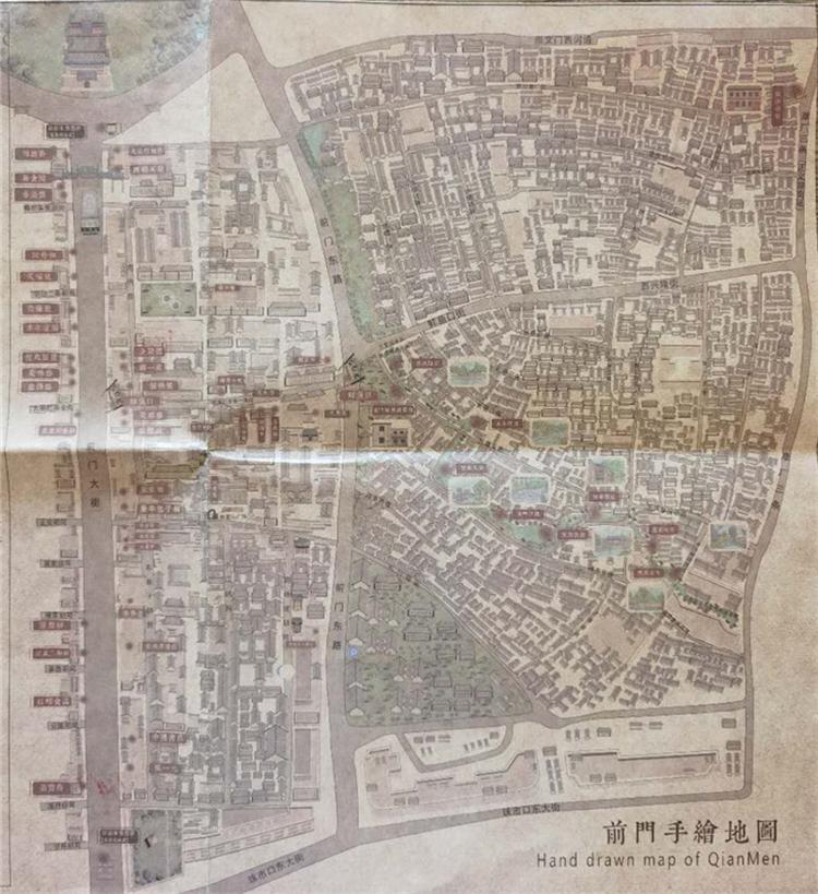2020年北京前门天街智能电子导览系统、语音讲解、非遗和文博手绘打卡地图上线了2.png
