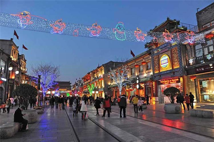 2020年北京前门天街智能电子导览系统、语音讲解、非遗和文博手绘打卡地图上线了6.jpg