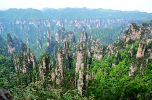 湖南省张家界风景区手绘地图,语音导览系统上线.jpg