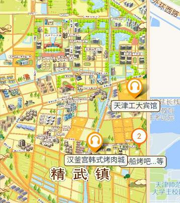 天津精武门电子导览、手绘地图、语音讲解功能上线.png