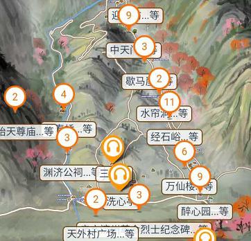 山东省5A泰山景区语音讲解、手绘地图、电子导览上线了.png