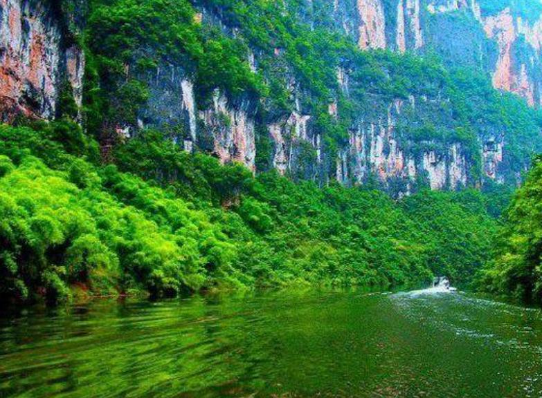 2021年重庆5A景区大宁河小三峡景区手绘地图,电子导览,语音讲解系统上线.png