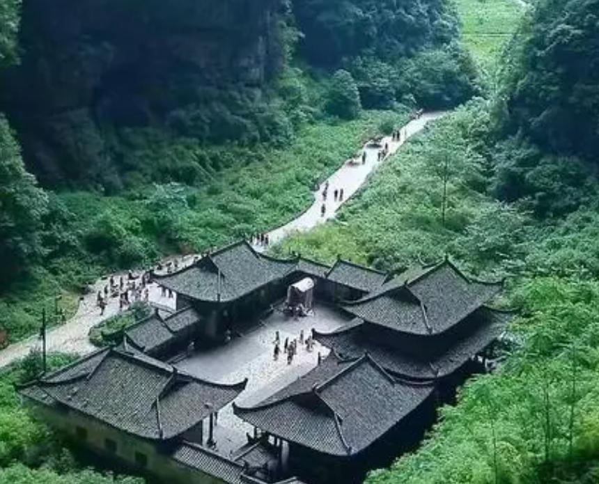 2021年国家5A景区重庆天生三桥手绘地图,电子导览,语音讲解系统上线.png