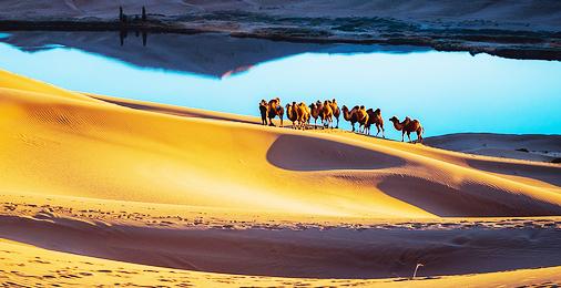 2021年内蒙古巴丹吉林沙漠景区手绘地图、语音讲解、电子导览等智能导览系统上线.jpg